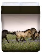The Chase 1 Duvet Cover by Roger Snyder