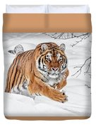 The Chase Is On Duvet Cover
