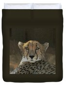 The Cheetah Duvet Cover
