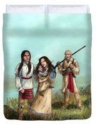 The Cherokee Years Duvet Cover by Brandy Woods
