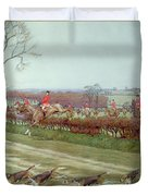 The Cheshire Away From Tattenhall Duvet Cover