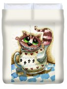 The Cheshire Cat - In A Teapot Duvet Cover
