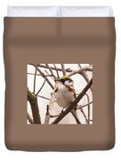 The Chestnut Warbler Duvet Cover