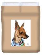 The Chihuahua Duvet Cover