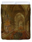 The Choir - Canterbury Cathedral Duvet Cover