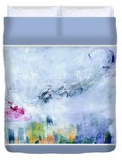 The Christmas Wrapping By Lisa Kaiser Duvet Cover