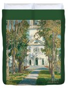 The Church At Gloucester, 1918 Duvet Cover
