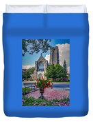 The Church In Summer Duvet Cover