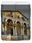 The Church Of All Nations Duvet Cover