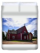 The Church Of Kustavi Duvet Cover