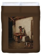 The Cimbalom Player Duvet Cover