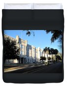 The Citadel In Charleston IIi Duvet Cover
