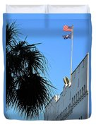 The Citadel In Charleston Duvet Cover