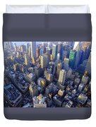 The City II Duvet Cover