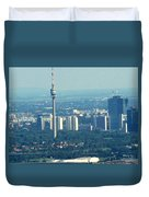 The City Of Vienna Austria Duvet Cover