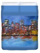 The City Duvet Cover