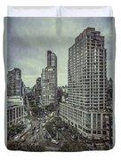 The City Shuffle Duvet Cover