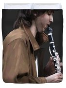 The Clarinet Player Duvet Cover