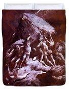 The Clash Of The Titans 1866 Duvet Cover