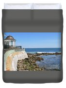 The Cliff Walk Newport Rhode Island 4 Duvet Cover