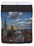 The Clifford Tower View Duvet Cover