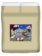 The Clock Is Ticking Duvet Cover
