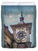 The Clock Of Clocks Duvet Cover