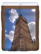 The Clock Tower Duvet Cover
