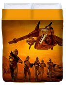 The Clone Wars Duvet Cover