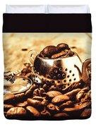 The Coffee Roast Duvet Cover