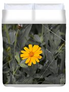 The Color Of  A Unike Flower Duvet Cover