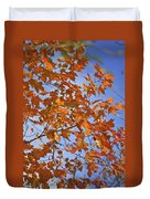 The Color Of Fall 2 Duvet Cover