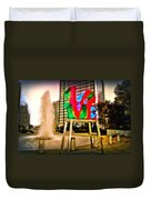 The Color Of Love Duvet Cover