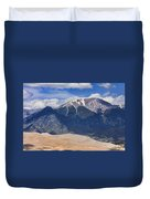 The Colorado Great Sand Dunes  125 Duvet Cover