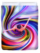 The Colorful Ballet Dress Duvet Cover