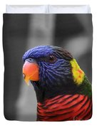 The Colorful Bird Duvet Cover