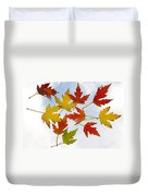 The Colors Of Fall Duvet Cover