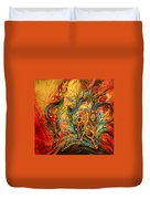 The Colors Of Sunrise Duvet Cover