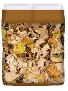 The Colors Of The Leaves In Autumn Duvet Cover