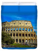 The Colosseum In Rome Italy Duvet Cover