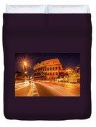The Colosseum, Rome, Italy Duvet Cover