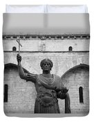 The Colossus Of Barletta Duvet Cover