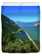 The Columbia Gorge National Scenic Area Duvet Cover