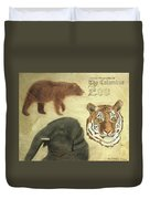 The Columbus, Oh Zoo Duvet Cover