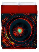 The Combustion Of Passion Duvet Cover