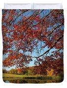 The Comfort Of Autumn Duvet Cover