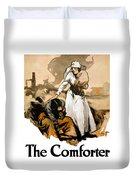 The Comforter - World War One Nurse Duvet Cover