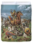 The Coming Of The Conqueror Duvet Cover