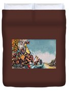 The Coming Of The Vikings Duvet Cover