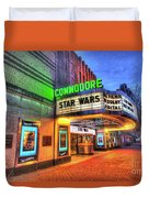 The Commodore Theatre, Portsmouth, Va Duvet Cover